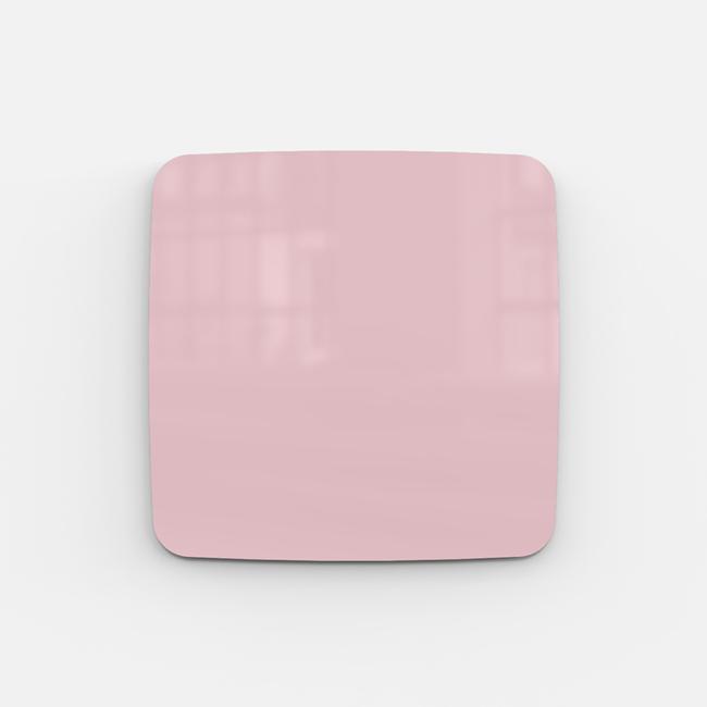Glastavle - Lintex Mood Flow 50 x 50 cm - Naive