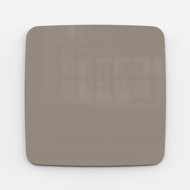 Glastavle - Lintex Mood Flow 75 x 75 cm - Cozy