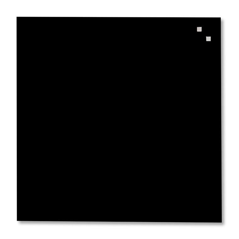 Glastavle Naga - Sort 45 x 45 cm