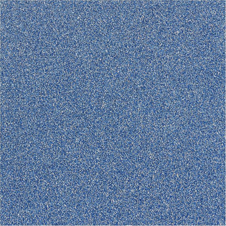 Glitterfilm blå Vivi Gade London Bredde 35 cm Tykkelse 110 my | 2 meter