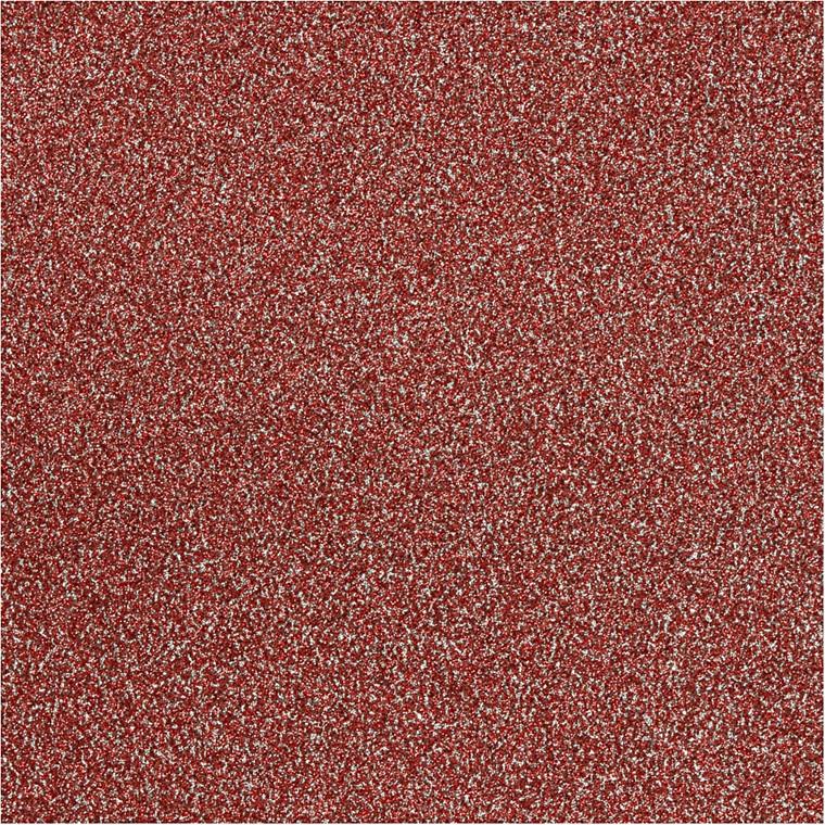Vivi Gade Glitterfilm rød Copenhagen Bredde 35 cm Tykkelse 110 my   2 meter