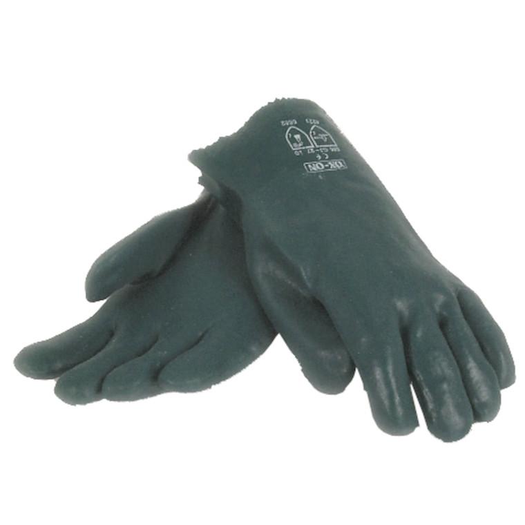 Grøn Vinylhandske - PVC handske Størrelse 10