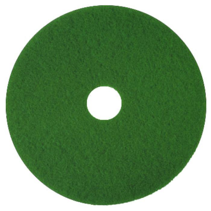 Gulvrondel 18 tommer, 3M, grøn, huldiameter 85 mm, 18 tommer