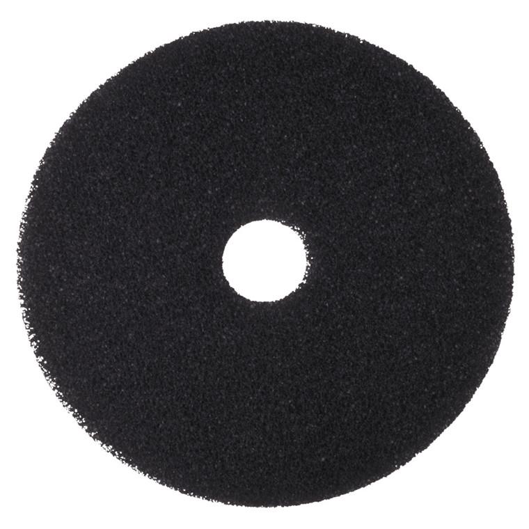 Gulvrondel, 3M, sort, huldiameter 85 mm, 15 tommer