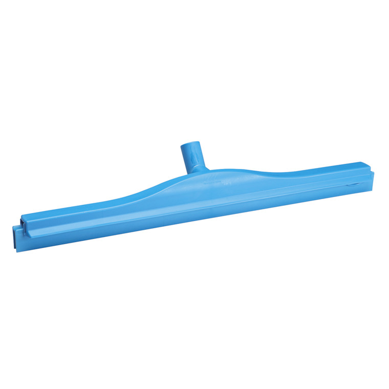Gulvskraber, Vikan Hygiejne, blå, 2K, med drejeled, 60 cm