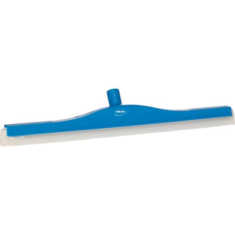 Gulvskraber, Vikan Hygiejne, blå, med drejeled, 60 cm