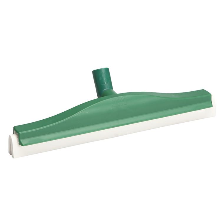 Gulvskraber, Vikan Hygiejne, grøn, med drejeled, 50 cm