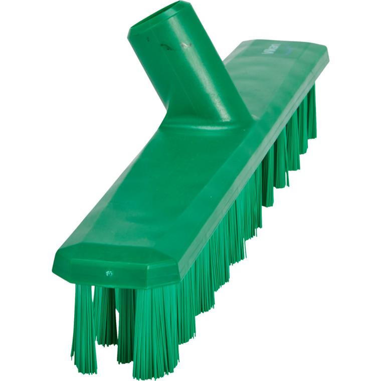 Gulvskrubbe, Vikan Hygiejne, grøn, Synlig børstehårslængde 37 mm, 5 cm