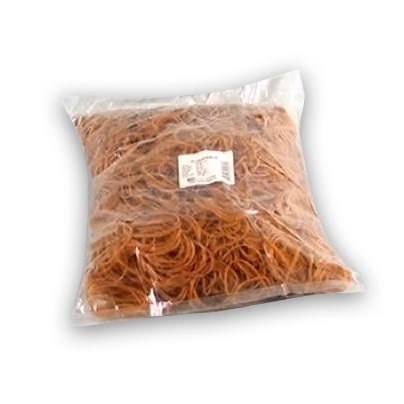 Gummibånd brun nr 16 - 60 mm 1000 g i ps