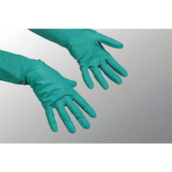 Gummihandsker small Vileda nitril grøn