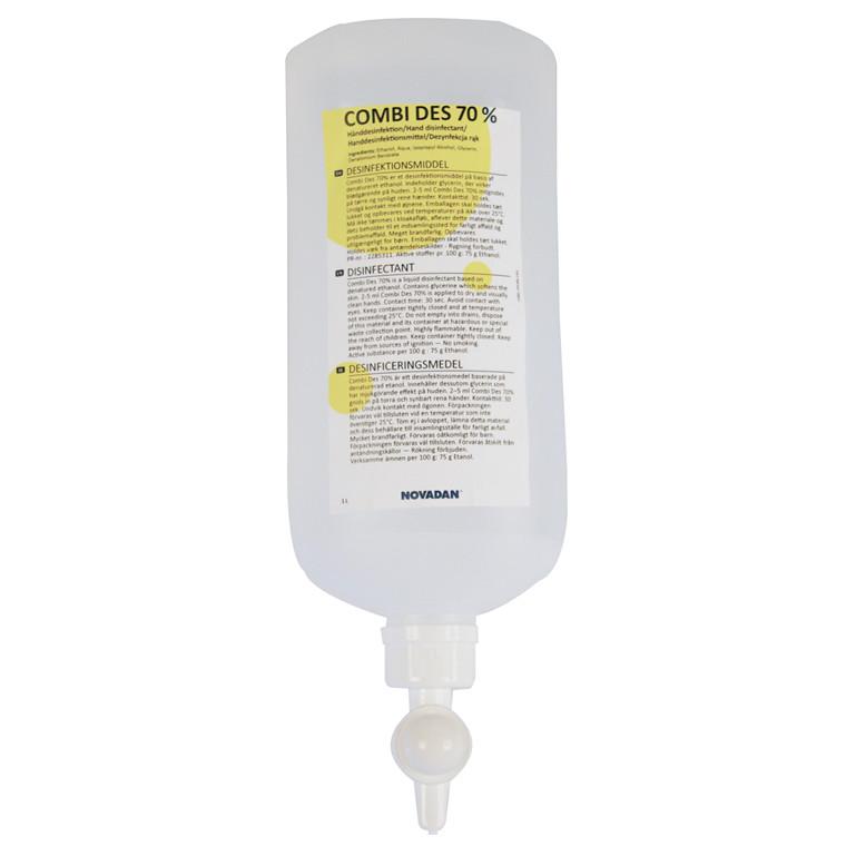 Novadan Combi Des 70% Hånddesinfektion - 1 liter