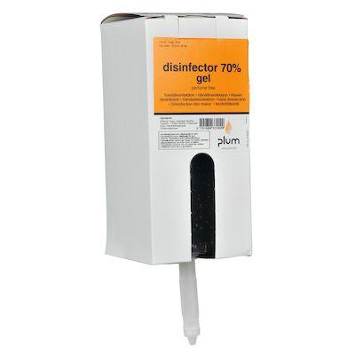 Hånddesinfektion, Plum, 70% Desinfektions Gel, 1000 ml,