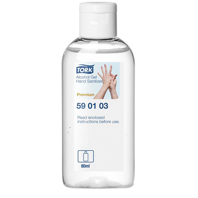 Hånddesinfektion Tork 590103 Alcogel lommeflaske - 24 stk. á 80 ml