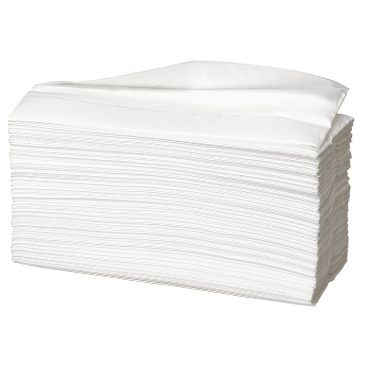 Håndklædeark Care-Ness Excellent 2-lags hvid Bredde 23 cm | Længde 31 x 9 cm