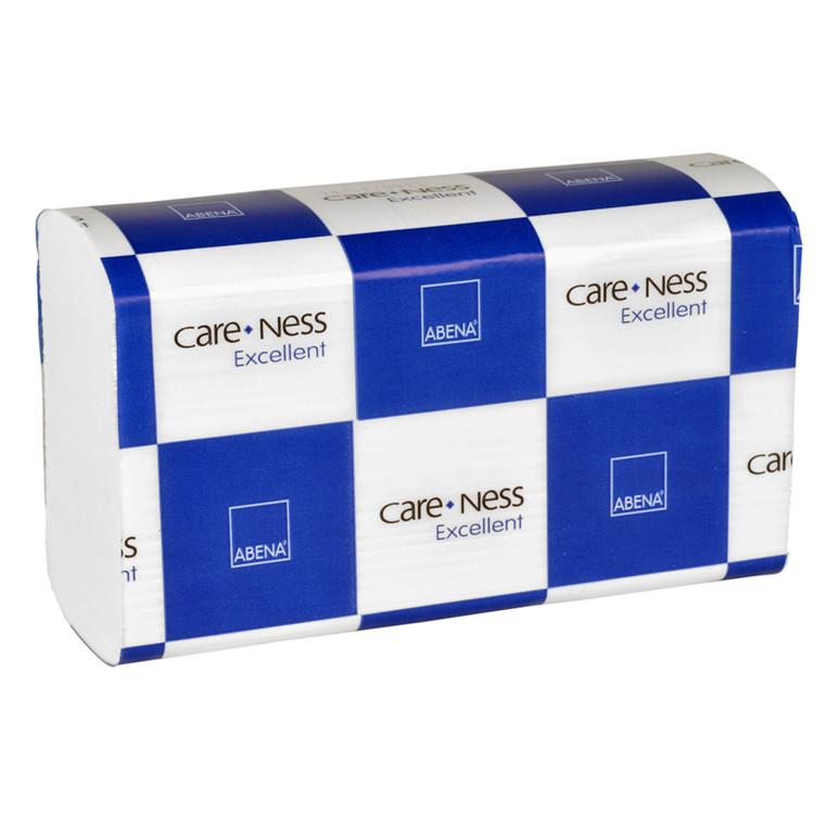 Håndklædeark Care-Ness Excellent 3-lags hvid Bredde 20,6 cm | Længde 24 x 8 cm