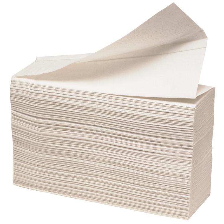 Håndklædeark Care-Ness Excellent nonstop 2-lags hvid Bredde 22 cm - Længde 34 x 8,50 cm