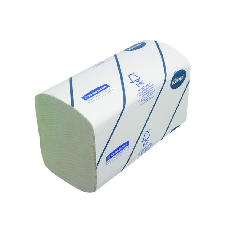 Håndklædeark Kleenex 2-lags hvid Bredde 21,5 cm | Længde 31,5 x 10,5 cm