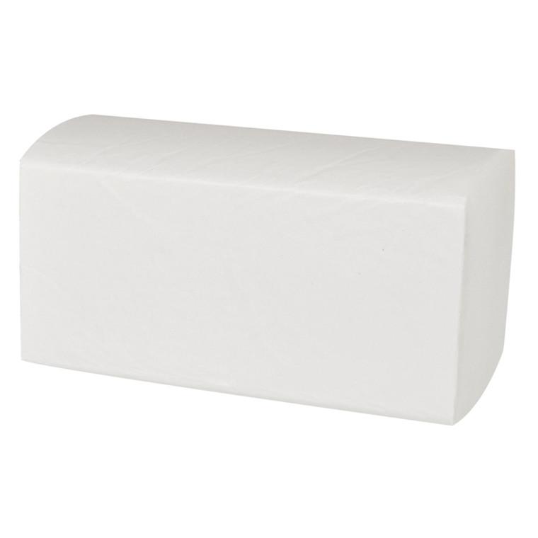 Håndklædeark Wepa multifold 2-lags hvid Bredde 24 cm | Længde 22 x 11,50 cm