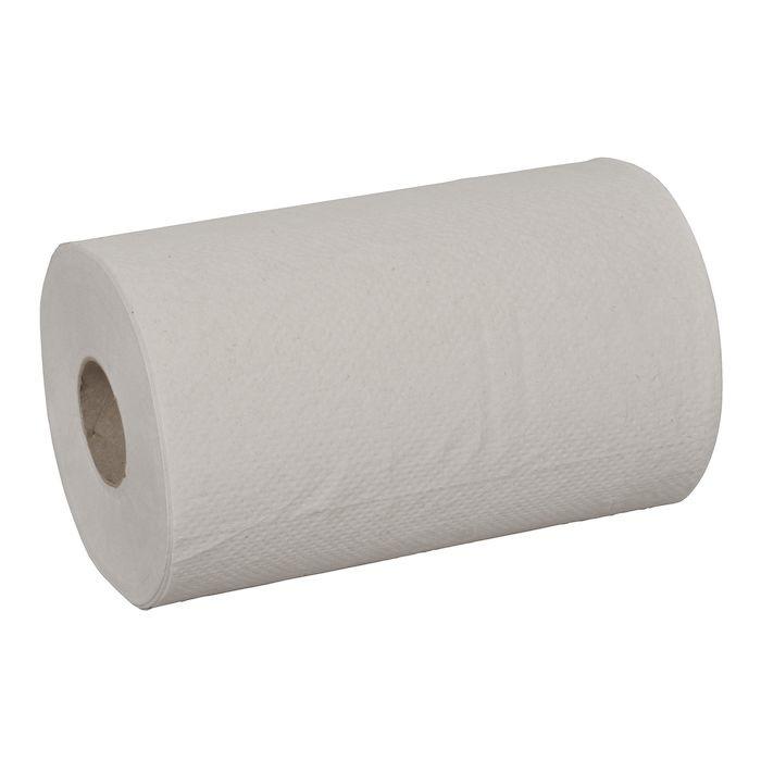 Håndklæderulle 1-lags med hylse natur mini 19,5 cm | 120 meter