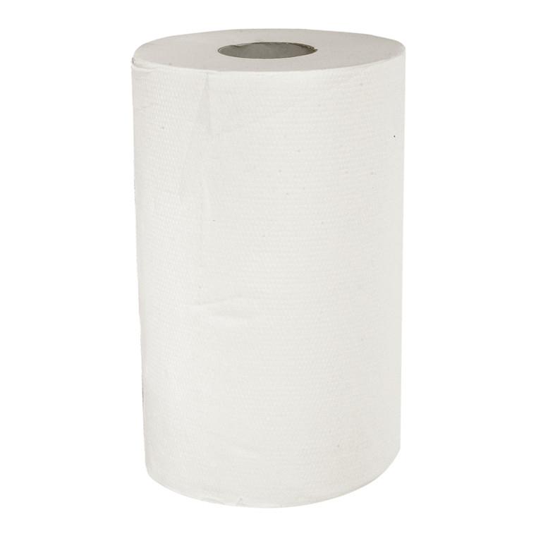 Håndklæderulle Care-Ness Excellent 2-lags med hylse hvid mini 20,30 cm | 72 meter