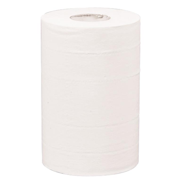 Håndklæderulle Care-Ness Excellent hvid 2-lags med hylse 20 cm 57 meter - 150 ark