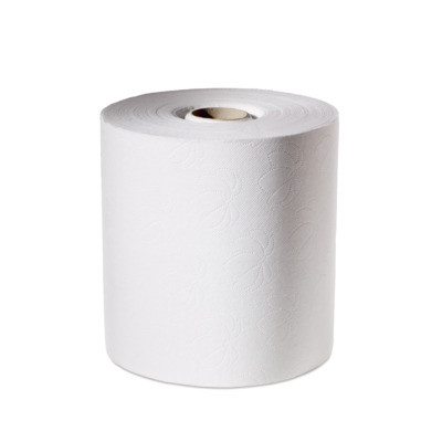 Håndklæderulle Lotus Impuls hvid 2-lags med hylse 19,50 cm - 143 meter