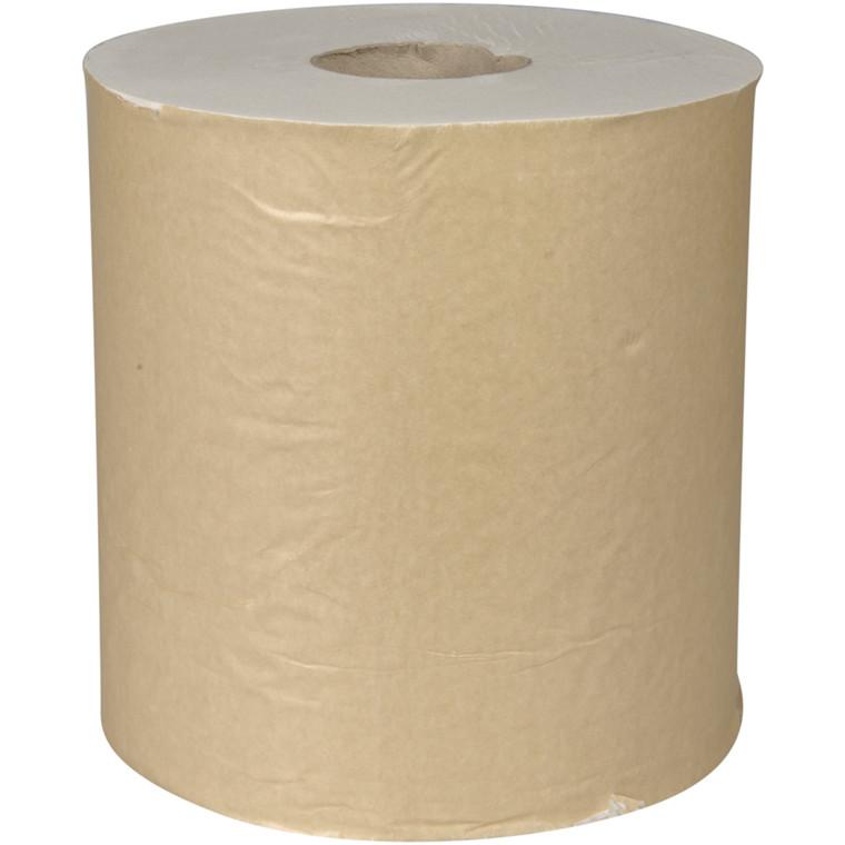 Håndklæderulle Neutral 1-lags med hylse natur midi 20,50 cm - 300 meter