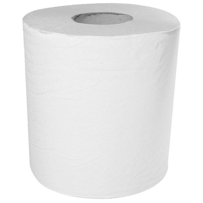 Håndklæderulle Neutral 1-lags med hylse hvid 20,30 cm - 300 meter