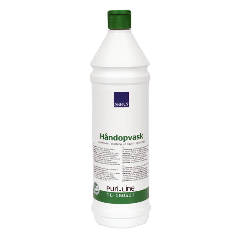 Håndopvask, Puri-Line, uden duft, 1 l