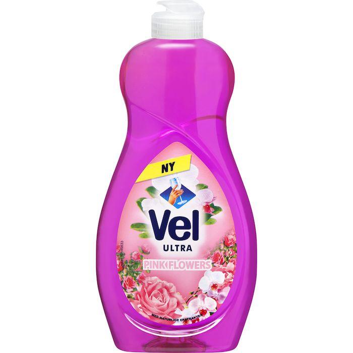 Håndopvask, Vel Pink Flower, 500 ml, med farve og duft