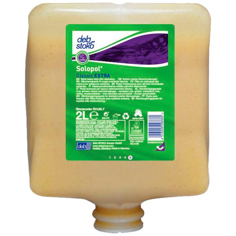 Håndrens, Deb Solopol Classic Extra, 2000 ml, beige, med parfume