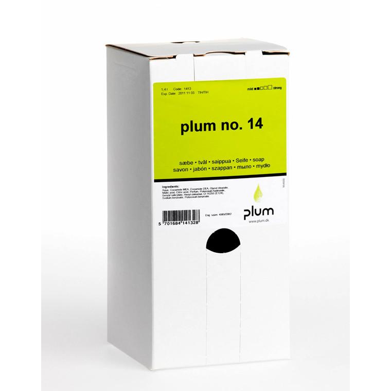 Plum no. 14 Håndsæbe rosa | 1,4 liter