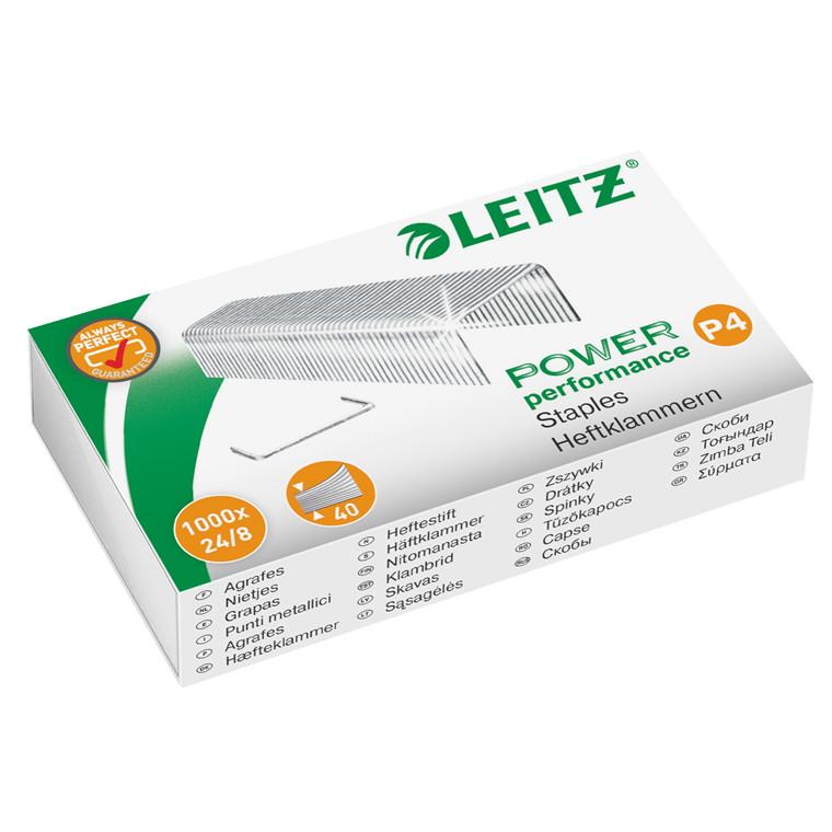 Leitz hæfteklamme - 24/8 1000 stk i æsken