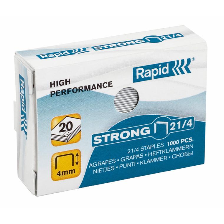 Hæfteklammer Rapid Strong 21/4 - galvaniseret 1000 stk i æske