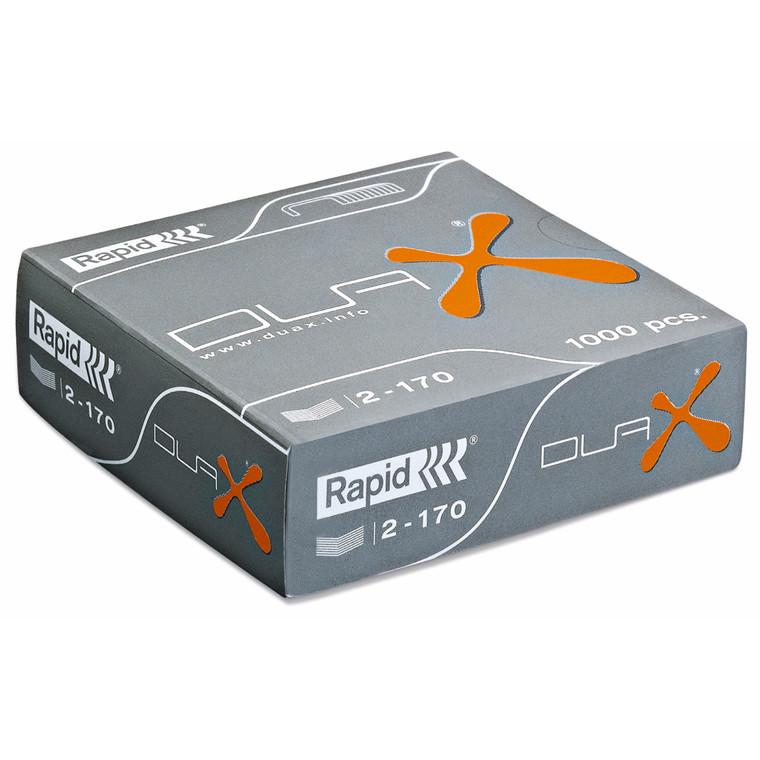 Rapid hæfteklammer DUAX - 1000 stk hæftning op til 170 ark