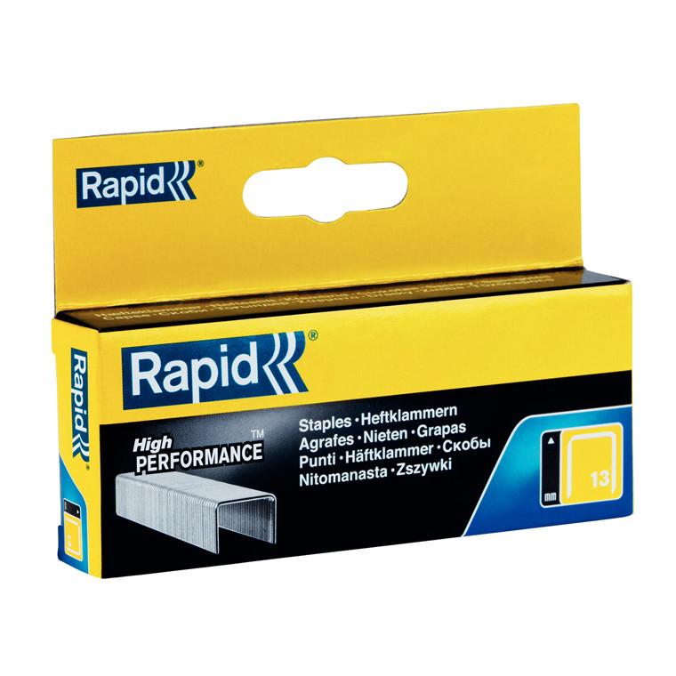 Hæfteklammer Rapid Tools 13/6 galvaniserede 2500stk/pak