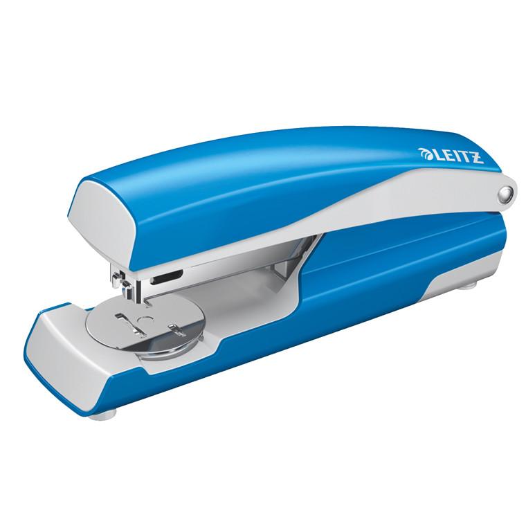 Hæftemaskine Leitz 5502 30ark lys blå