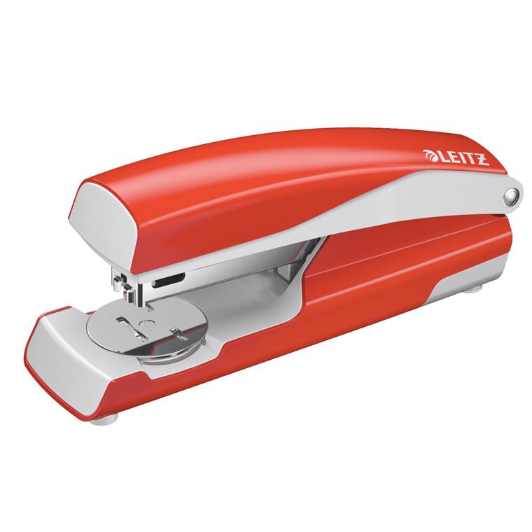 Hæftemaskine Leitz 5502 30ark lys rød