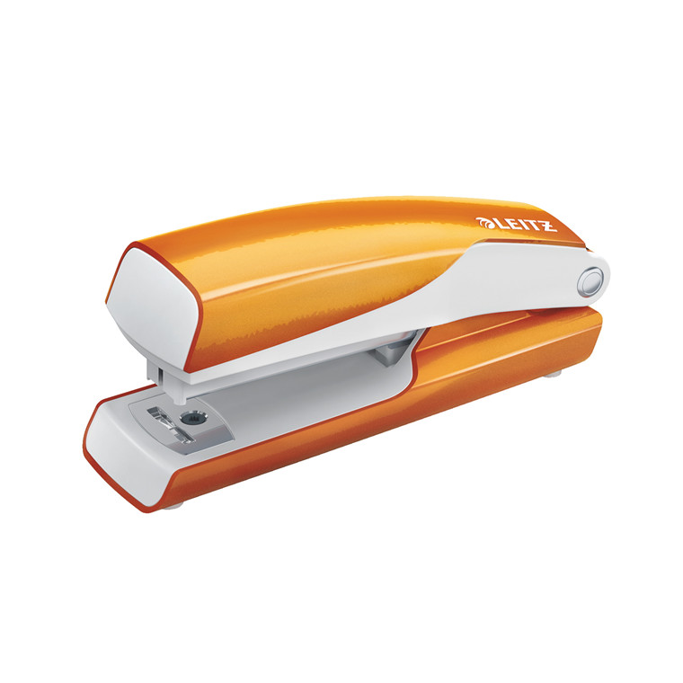 Hæftemaskine Leitz WOW Mini t/10ark orange
