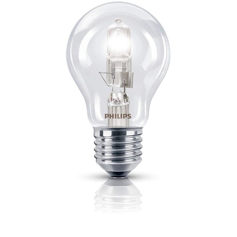 Halogenpære 42W (55W) E27 EcoClassic standard 2stk/pk