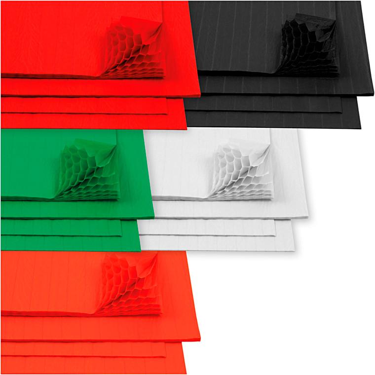 Harmonikapapir, ark 28x17,8 cm, 40ark