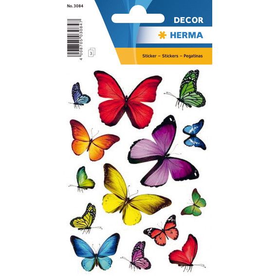 HERMA Decor sticker butterflies