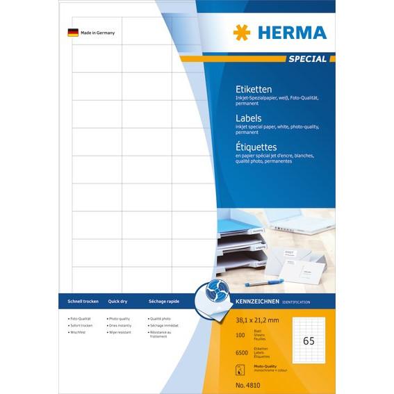 HERMA Herma etiket Special Inkjet 38,1x21,2 (6500)