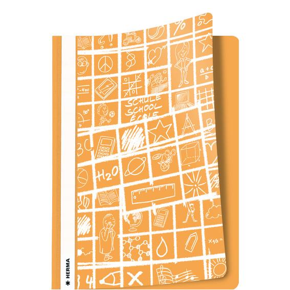 Herma Schoolydoo - Orange Skolemappe A4