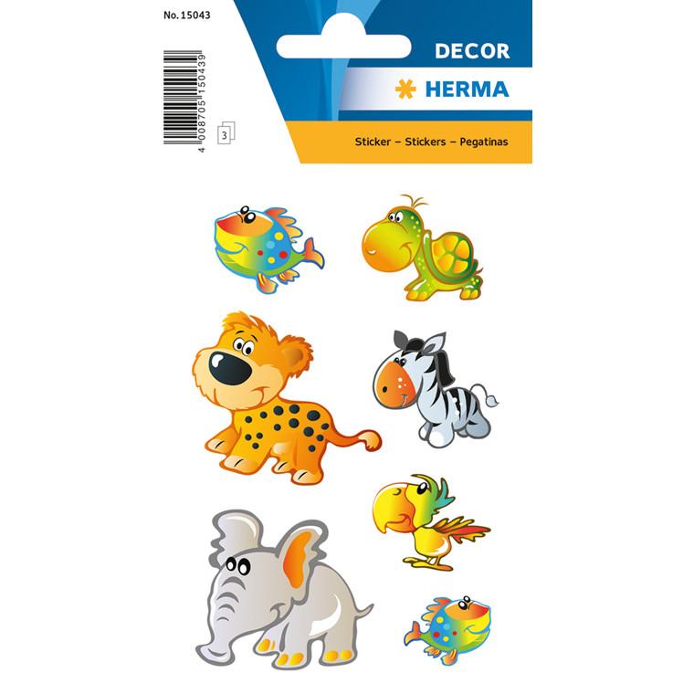 HERMA Sticker DECOR animal kids