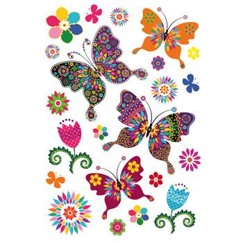 HERMA Sticker MAGIC butterfly diversity, glittery foil