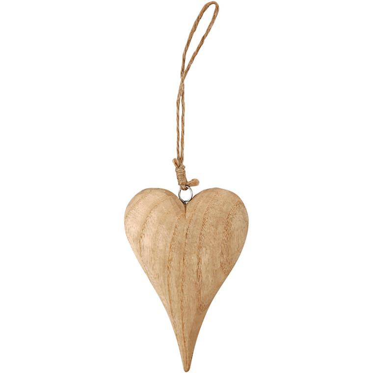 Hjerte højde 15 cm tykkelse 25 mm - Basic
