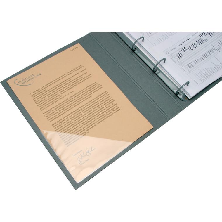 Hjørnelomme - Selvklæbende 17 x 17 cm BNT - 6 stk i æske