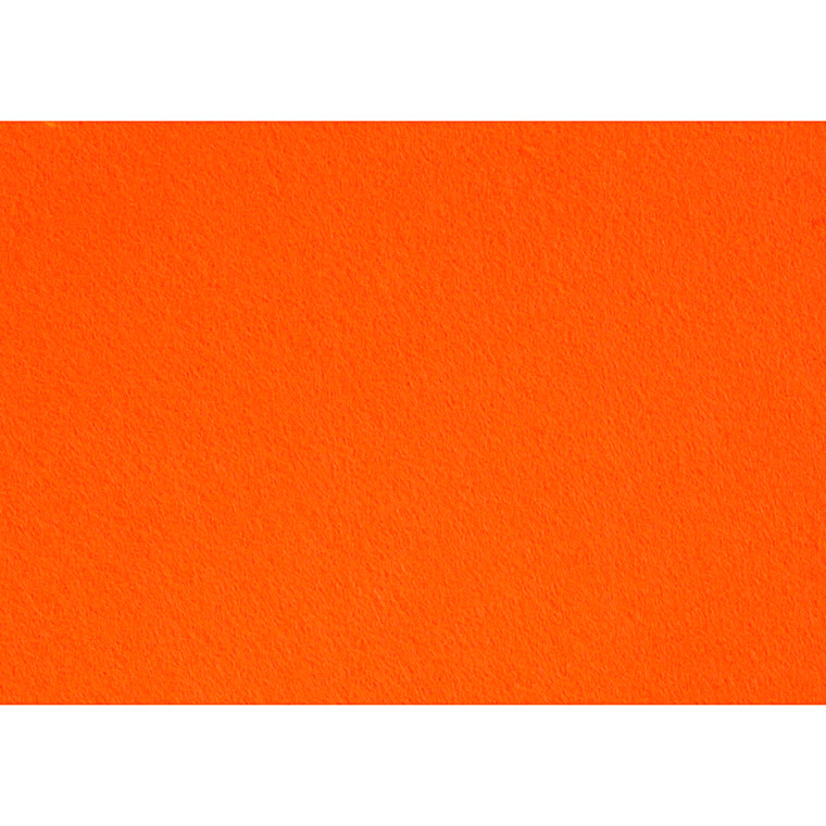 Hobbyfilt A4 21 x 30 cm tykkelse 1,5-2 mm orange | 10 ark