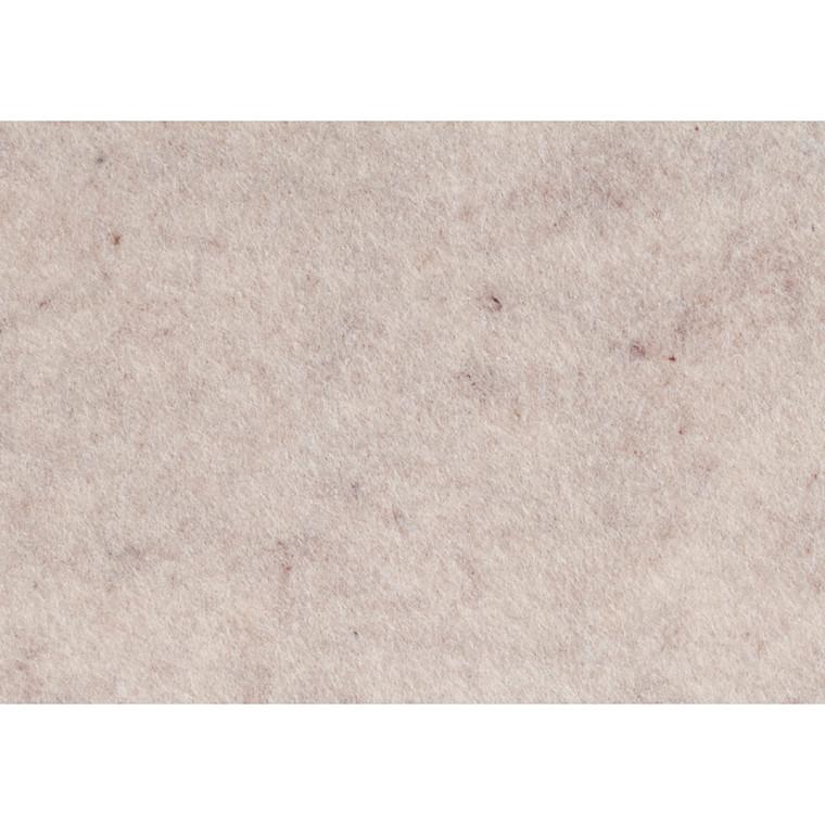 Hobbyfilt A4 21 x 30 cm tykkelse 1,5-2 mm råhvid meleret | 10 ark